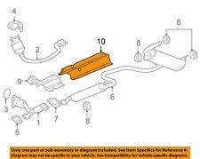 Pontiac GM OEM 06-09 G6 3.5L-V6 Exhaust-Rear Shield 15856105