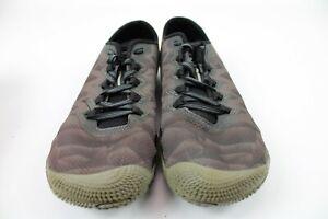 Merrell Men's Vapor Glove 3 Trail Runner J12615 Black/Silver Size 7.5