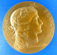 *R- M* No80 REPUBLIQUE FRANCAISE Award Bronze Medal(RETRAITE) by Daniel Dupuis