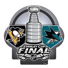 2016 NHL Stanley Cup Final Finals Pin San Jose Sharks vs Pittsburgh Penguins