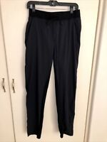 LULULEMON Black Sweatpants Sz S small Stretch Workout Athletic Drawstring