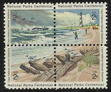 Scott 1448-51 US Stamp 1972 2c Cape Hatteras Block of 4 MNH