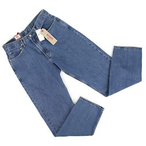 LS-4 Levi/'s Men/'s 550 Relaxed Fit Tapered Blue Jeans 100/% Cotton