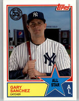 Gary Sanchez 2018 Topps Series 2 1983 TOPPS ALL-STAR #83AS-23 Yankees