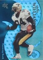 Ricky Williams 2000 EX Fleer #61 New Orleans Saints football Card