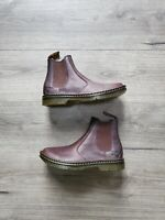 NEW Dr. Martens Suffolk Brown Leather Brown Work Boots Mens Size 8