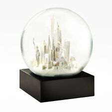 New New York City White Snow Globe by Cool Snow Globes
