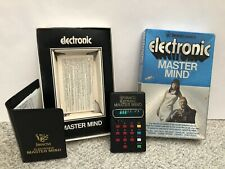 Vintage 1977 Invicta Handheld Electronic Master Mind Game. Tested And Works