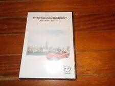 2005 MAZDA RX-8 TRIBUTE MAZDA3 PROTEGE MIATA NY AUTO SHOW PRESS KIT W CD