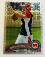 Andy Dalton Rookie RC XFRACTOR 2011 Topps Chrome #51 RC Bengals Cowboys