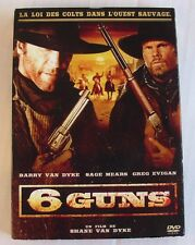 DVD 6 GUNS - Barry VAN DYKE / Sage MEARS / Greg EVIGAN