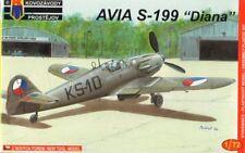 Kovozavody Prostejov 1/72 Avia S-199 Diana Précoce CzAF # 7208