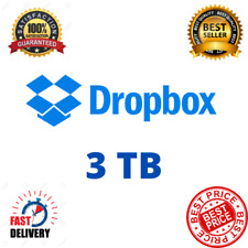 Dropbox Premium 3TB ✔️ Lifetime Account 👑 Custom Account ✔️ Fast Delivery