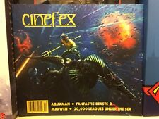 Cinefex Magazine Issue 162 Aquaman, Fantastic Beasts 2, Marwen, 20000 Leagues