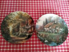 New Listing2 Cottage Wall Display Plates