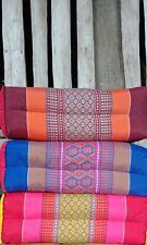 3X Khit Pillow Headrest Bolster Cushion Spa Handmade Cotton Embroidered Healthy