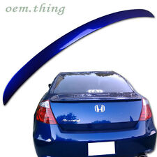 Painted Honda Accord Coupe 2D OE Style Rear Trunk Spoiler Wing ABS 08-12