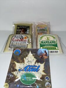 A Selection Of Spanish Cheese 1kg / 5 Varieties Goat Blue Manchego Mahon Iberico