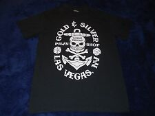 Gold & Silver Pawn Shop World Famous Las Vegas NV. Skull Dice T-Shirt Adult M
