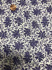 Purple Bouquets Fabric  6 Yards 100% Cotton  # 137