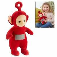 Teletubbies Talking Soft Toy - Po Red Plush Cuddly Toy with Sound and Phrases