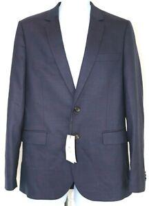 Paul Smith Tailoring Two Tone Blazer Jacket, PS Mens Blazer size 38, Navy