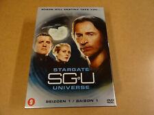 6-DVD BOX / STARGATE UNIVERSE - SGU - SEIZOEN 1 / SAISON 1