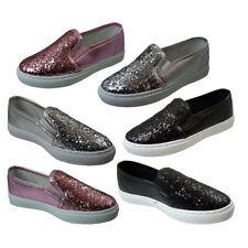 Plimsolls Slip - on Medium Width Shoes for Girls