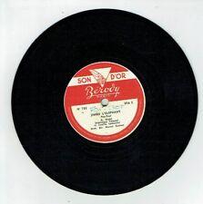 78T Disque 17cm Dominique TIRMONT Linette LEMERCIER - JIMBO ELEPHANT -BEROVY 785