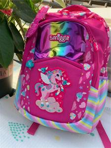 ❤ Girls SMIGGLE Lilac Fave Backpack School Bag Rucksack NEW RARE book