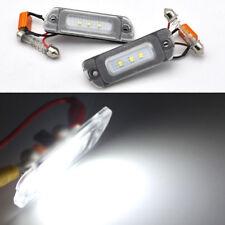 2x Error Free LED License Plate Light For MERCEDES W163 ML class 2002-2005 LCI