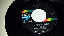 "JACKEY BEAVERS Hold On / Hey Girl SOUND STAGE 7 2649 SOUL 45 7"" VINYL RECORD"