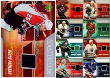 100++ UPPER DECK 2006 NHL HOCKEY UD GAME JERSEY LOT ... U PICK OF LIST WHOLESALE