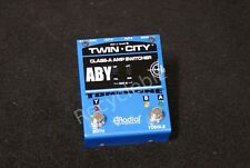 NEW! Radial Engineering Tonebone Twin City Active ABY Amp Switcher