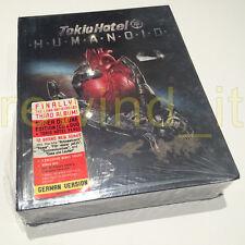 "TOKIO HOTEL ""HUMANOID"" BOX SUPER DELUXE EDITION (CD & DVD + TOKIO HOTEL FLAG)"