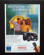 F151 - Advertising Pubblicità - 1992 - PENTAX ZOOM 90 WR COMPATTA