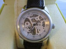 Men's Invicta Watch Mechanical 17 Jewels Water Resistant 30M  Stainless Steel