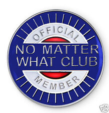 """""""No Matter What Club"""" AA/NA/12 Step Recovery Program Enamel Coin/Medallion"""