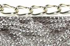 100 meter 100m Curb Chain Lot Silver Plated Open Links Unsoldere 3x5mm 328'
