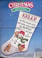 Good Shepherd Christmas Stocking Cross Stitch Kit #87208 A Playful Xmas 1988
