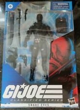 Hasbro G.I. Joe Classified NINJA COMMANDO SNAKE EYES COBRA WAVE 1 NEW IN STOCK