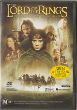 LIKE NEW DVD R4 Lord of the rings- The fellowship of the ring- 2 DISC