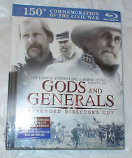 Gods and Generals Extended Director's 0883929206230 Blu-ray Region 0