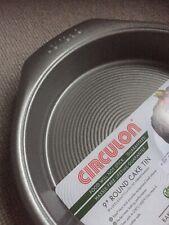 "Circulon  9"" round cake tin - BN"