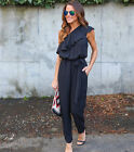 Womens Sleeveless Bodycon Long Pants Jumpsuit Rompers Trousers Clubwear Playsuit