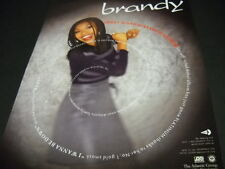 BRANDY Sweet Sixteen and already Platinum 1995 PROMO POSTER AD mint condition