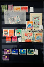 Albania Mid-1900's Stamp Collection