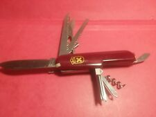 LOT 711 REDUCED PRICE! Swiss Army Type Knife w/ at least 13 Features!
