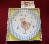 """Hallmark Mary's Bear Collector Plate 2013, 8""""D"""
