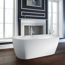"""British Baths"" Hallington Matt Finish Natural Stone Freestanding Bath -1800mm"